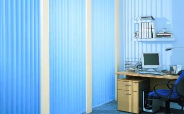 blue vertical office
